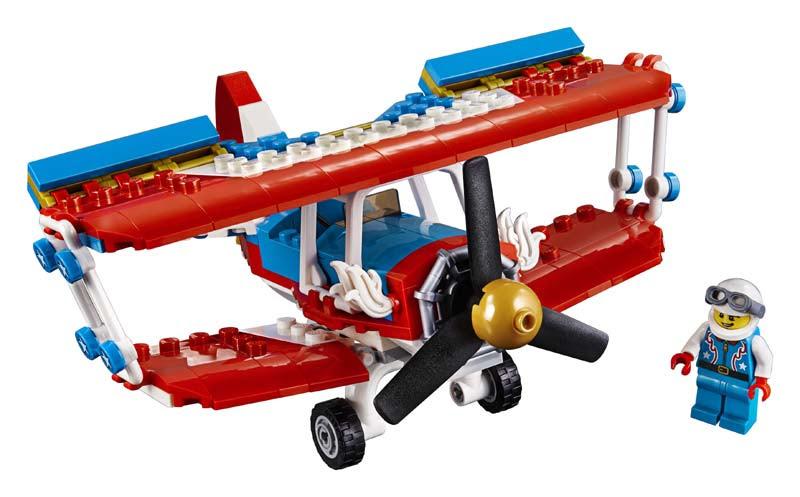 Contenido de Lego® 31076 Audaz Avión Acrobático