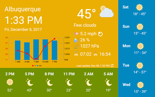 WhatWeather - Weather Station ad-free 1.3.6 screenshots 2