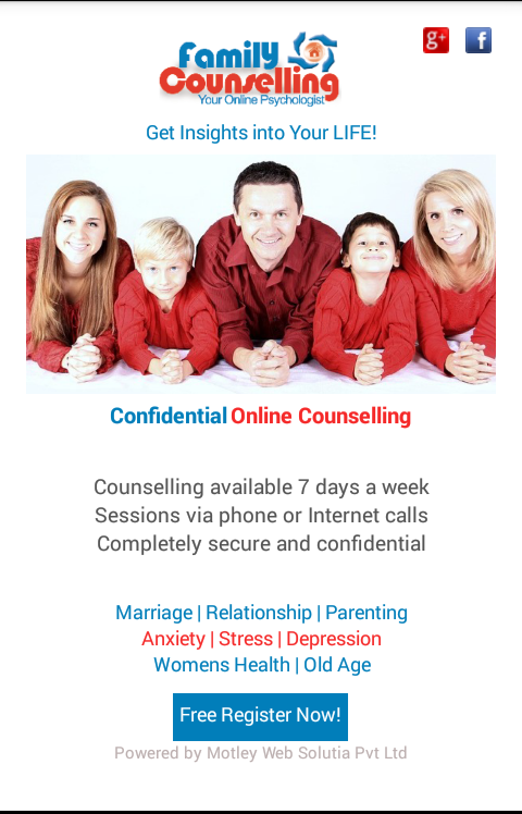 Family Counselling - Marriage- screenshot
