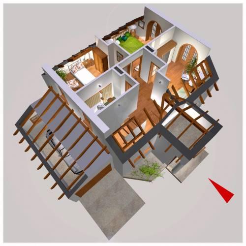 APS 138 - Rzut piętra 3D