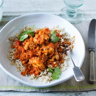 Chicken Dhansak Curry.