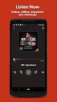 screenshot of Stitcher - Podcast Player