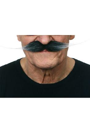 Mustasch Vaxad, grå