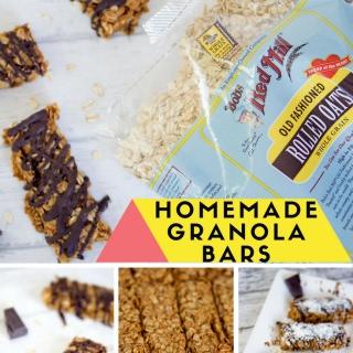 Homemade Crunchy Granola Bars