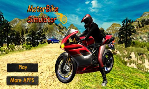 Off-Road Moto Race Motorcross