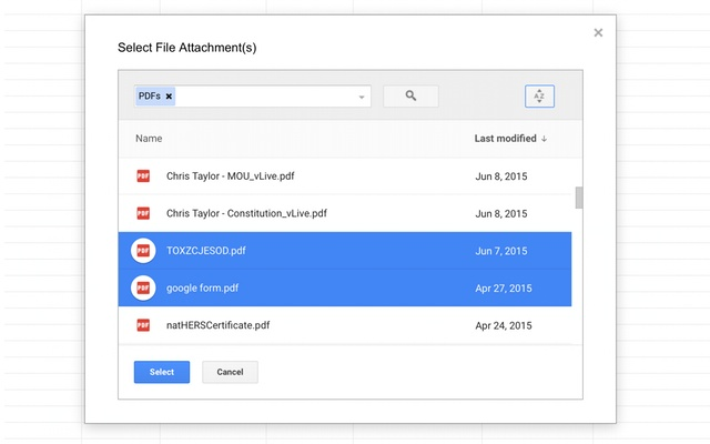 Mail Merge with Attachments - Google Sheets add-on