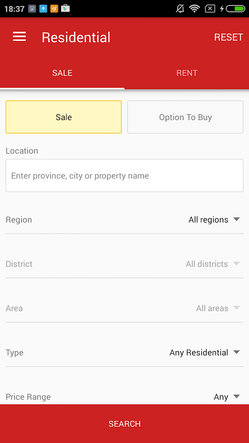 DDproperty- screenshot