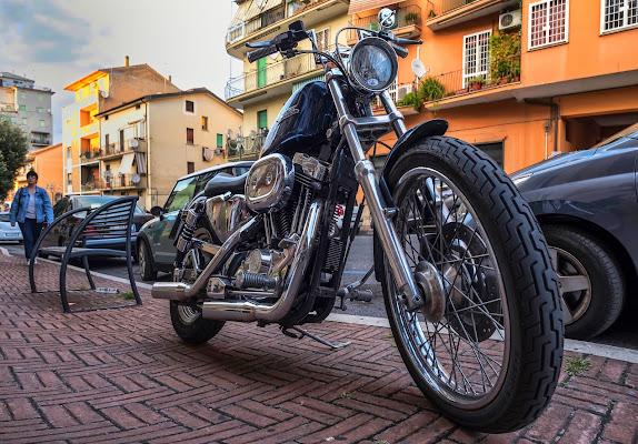 Harley  di Enrico Balla