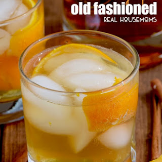 Orange Spice Old Fashioneds