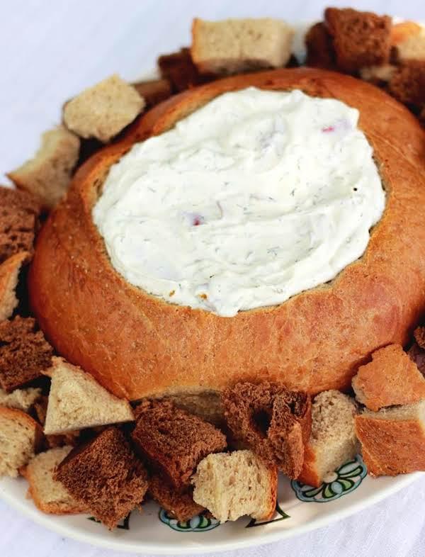 Dill Dip In A Bread Bowl Recipe