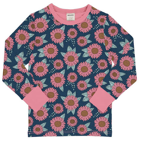 Maxomorra Top LS Sunflower Dreams