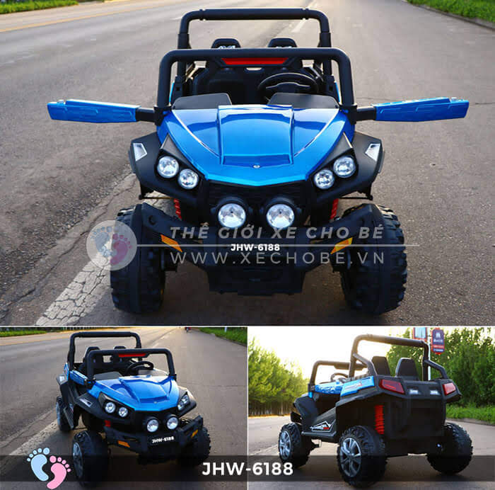 Xe ô tô điện cho bé 4 động cơ JHW-6188 3