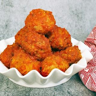 Gluten Free Slow Cooker Turkey Meatballs