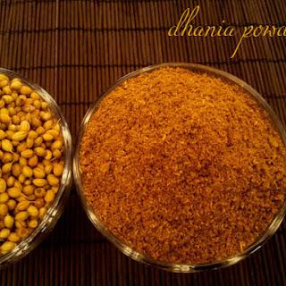 How To Make Dhania Powder At Home.
