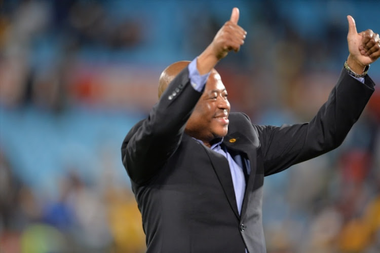 Bobby Motaung during the Absa Premiership match between Mamelodi Sundowns and Kaizer Chiefs at Loftus Versfeld on October 17, 2017 in Pretoria, South Africa.