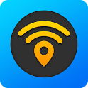 WiFi Map — Free Passwords & Hotspots icon