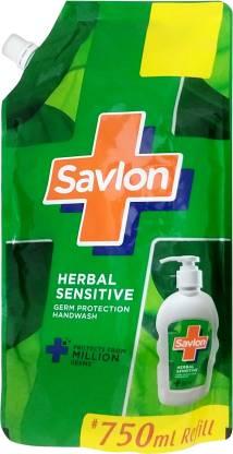 Savlon Herbal Sensitive Handwash - 750 ml image