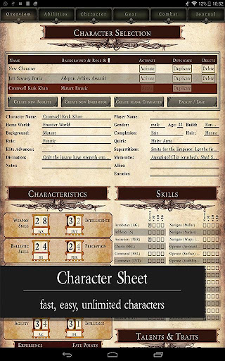 40k character sheet warhammer download heresy dark epub