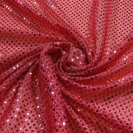 Glitterpaljett - rosa