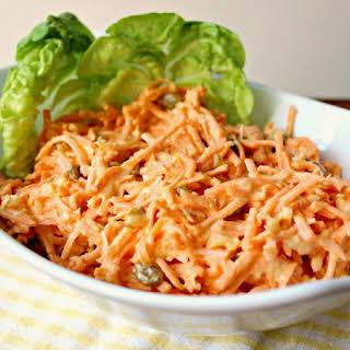 Tropical Carrot Raisin Salad.