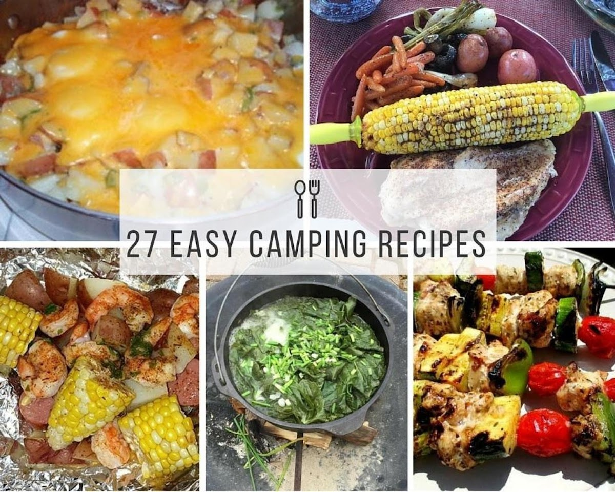 27 Easy Camping Recipes Just A Pinch
