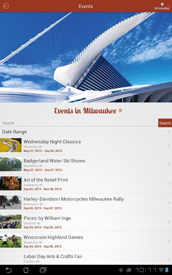 Travel Wisconsin- screenshot