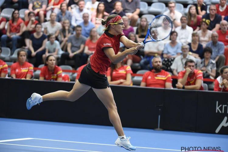 Kirsten Flipkens speelt in Houston nog een finale