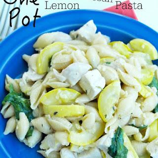 One Pot Lemon Parmesan Pasta Recipe