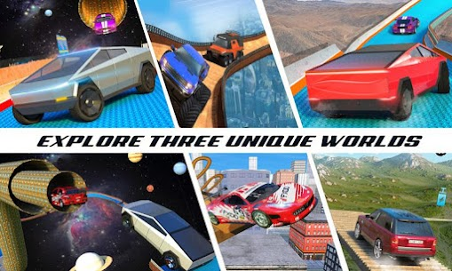 منحدر سباق السيارات المثيرة لعبة السيارات المتطرفة 1