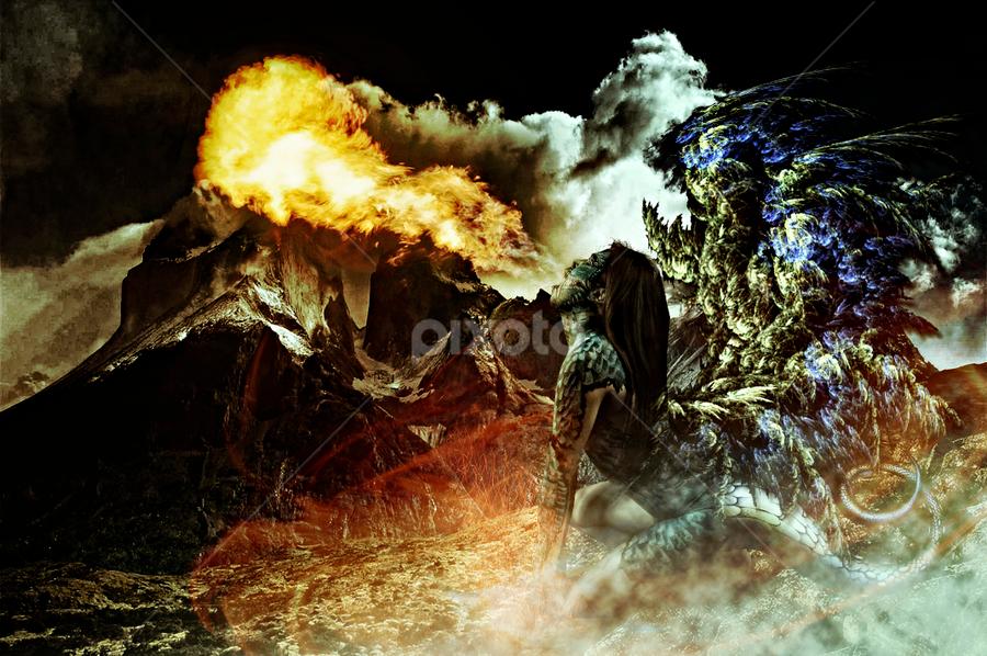 Dragon Fire by Ocidem Graphix - Digital Art People
