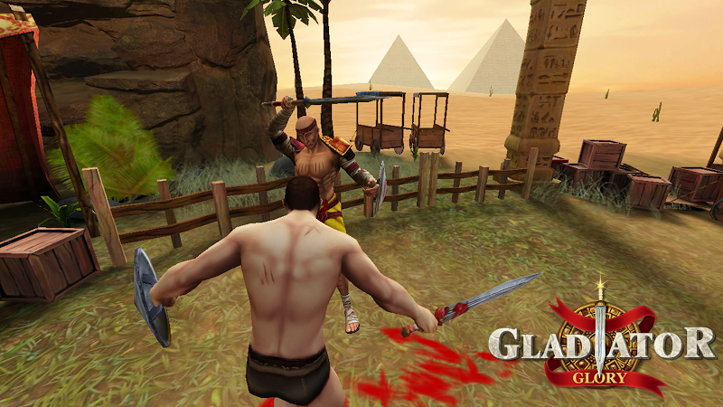 Gladiator Glory Egypt Screenshot 1