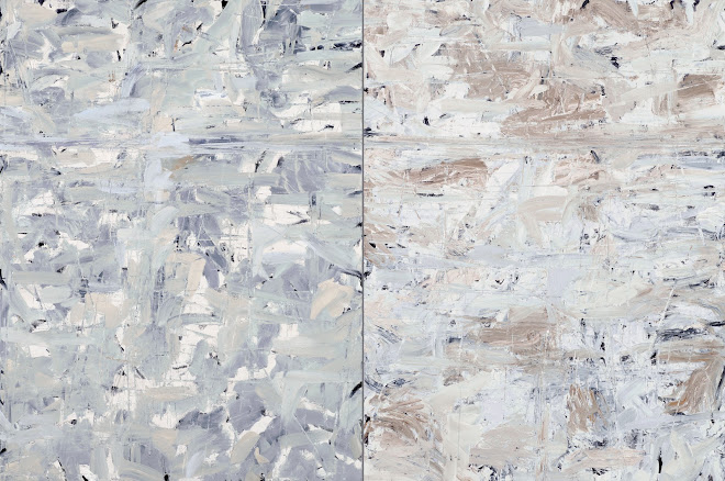 <p> <strong>Grey Lake II</strong><br /> Oil on linen<br /> 48&rdquo; x 72&rdquo; diptych<br /> 2021</p>