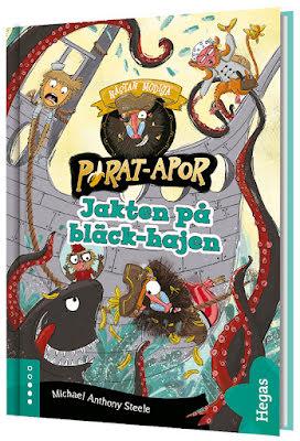 Pirat-apor 4 - Jakten på bläck-hajen