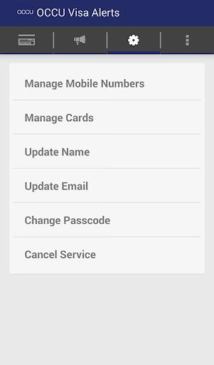 OCCU Alerts screenshot 1