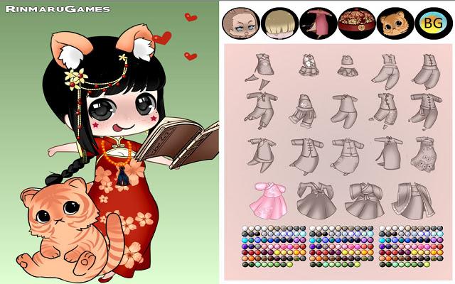 Chinese Zodiac dress up game