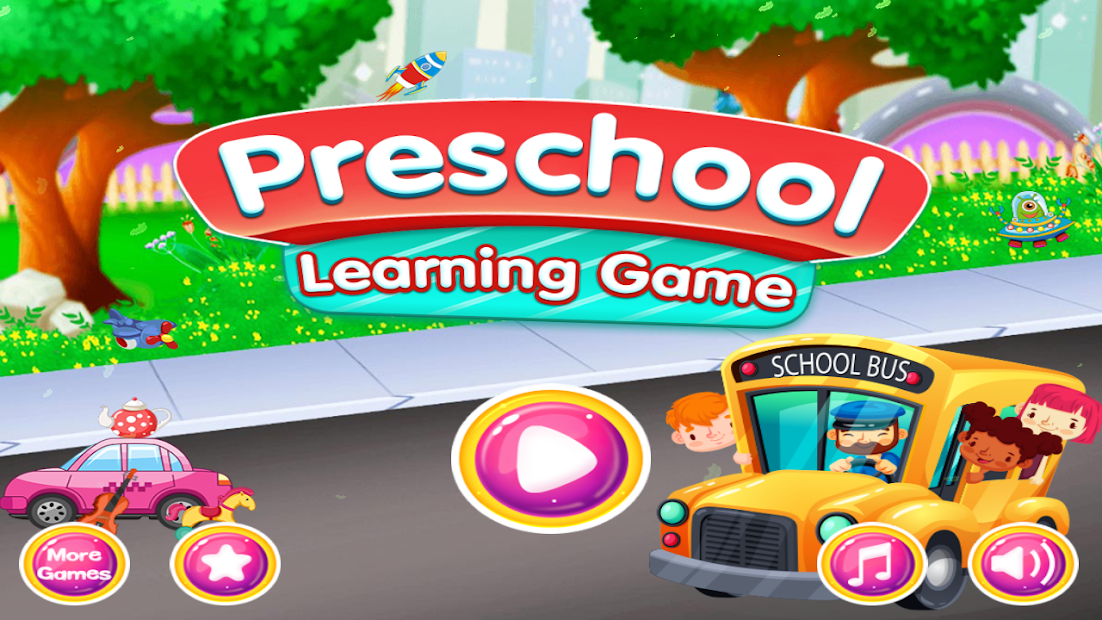 PreSchool Learning English ABC,Colors & Numbers Android App Screenshot