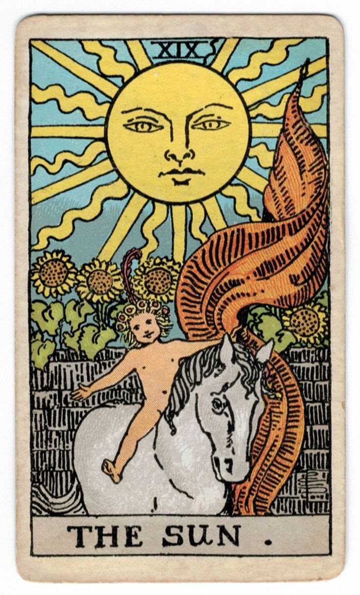 Tarot Cards And Important Life Events: The Sun Tarot Card Meaning
