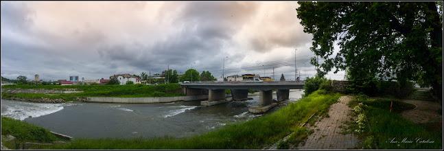 Photo: Turda - Str. Stefan cel Mare la intersectie cu Piata Romana - Podul Mare din Beton   - 2019.05.15