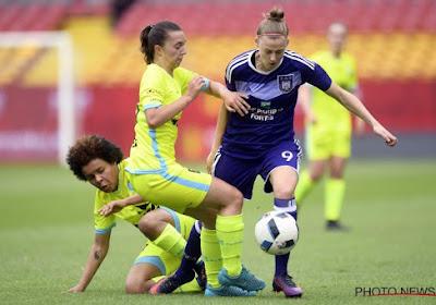 Jody Vangheluwe is opnieuw helemaal fit bij de KAA Gent Ladies