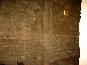 Photo: Odena, mur interior capella de Sant Miquel s.XI-XII