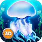 Jellyfish Simulator 3D icon
