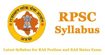 RPSC Syllabus 2020 for RAS Exam