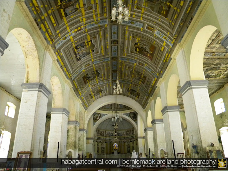 The main body and the ceiling paintings endangered in Loon