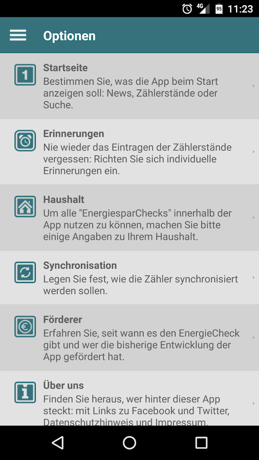EnergieCheck co2online- screenshot