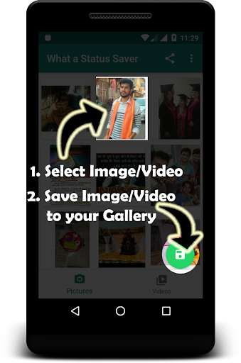 Whats Video Status Downloader & Status Saver App 1.5 screenshots 1