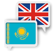 App Icon for Kazakh English Translate App in Czech Republic Google Play Store