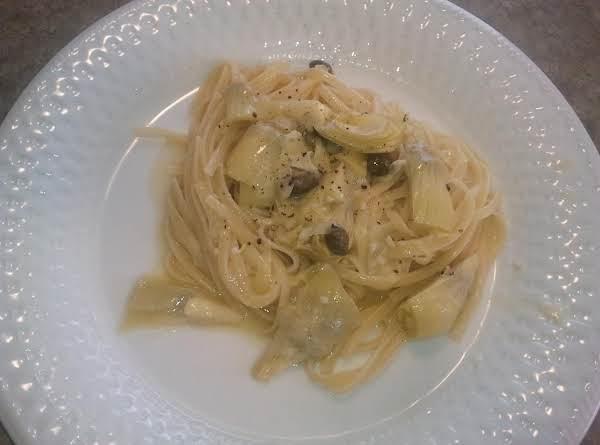 Artichoke Linguine Recipe