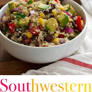 Southwestern Quinoa and Black Bean Salad.
