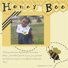 Photo: Created 9/10/06 - Made using Kim Liddiard's Honey Bee Kit.