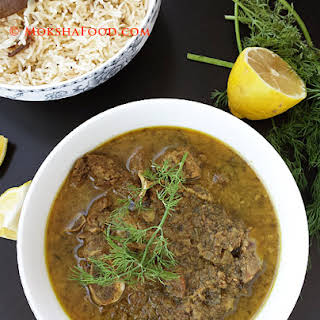 Goat Meat /Mutton Curry with Dill!.